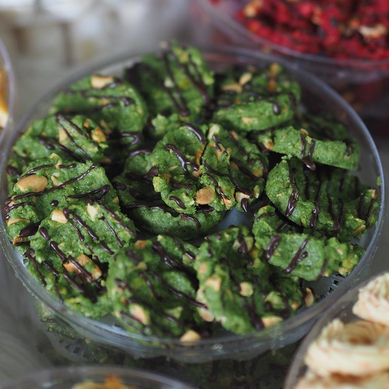 Kue Kering Green Tea Mini