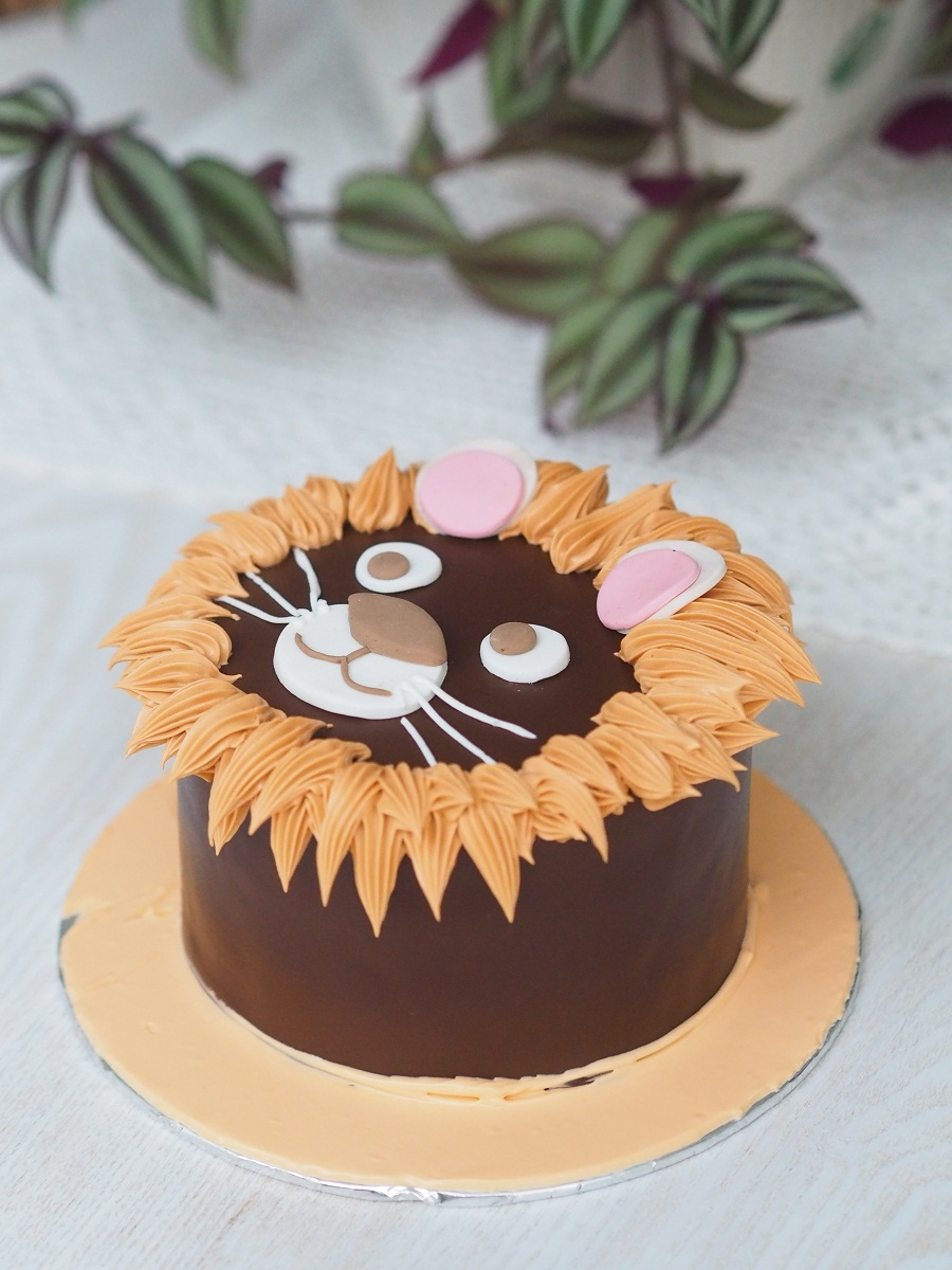 Karakter Cake lion 12cm