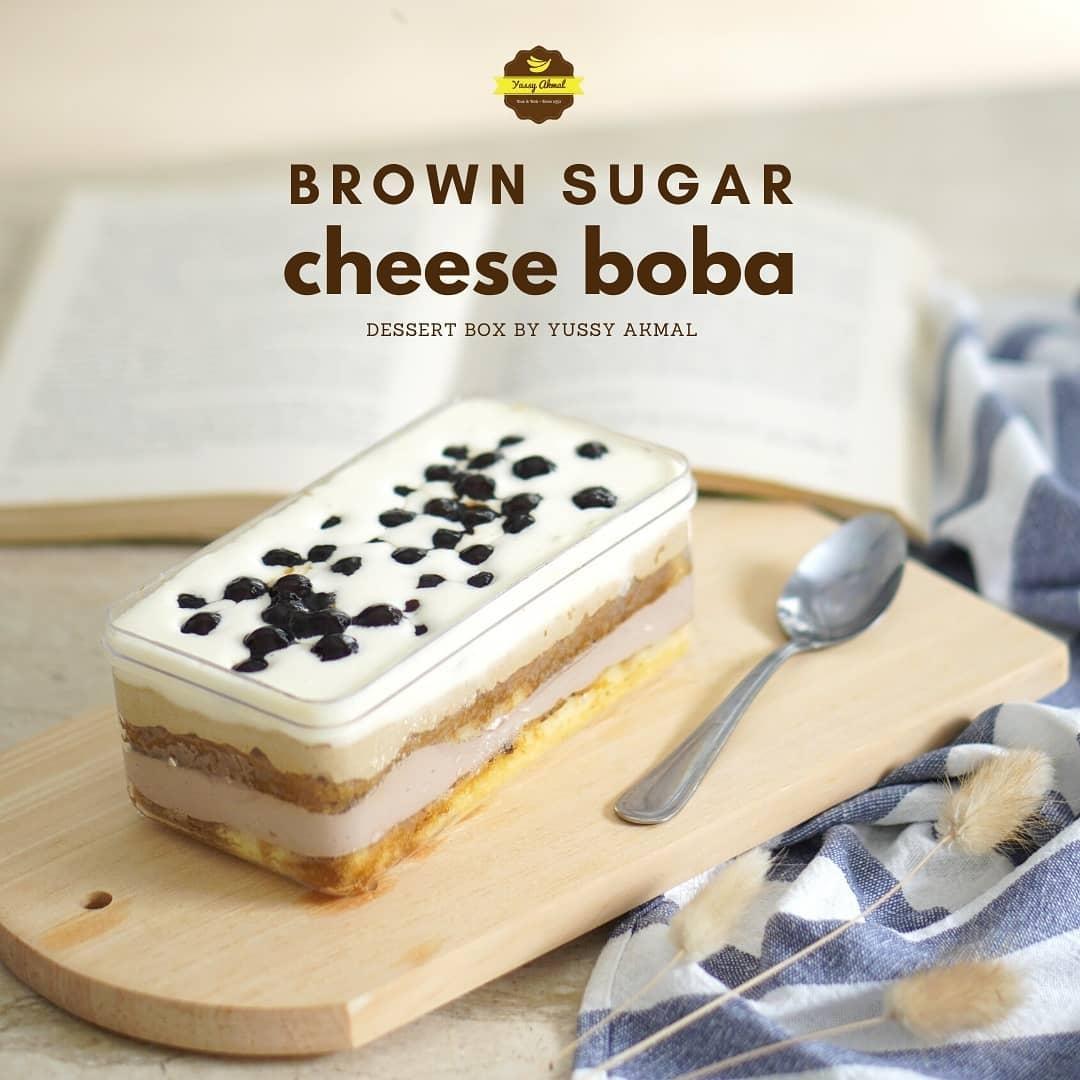 Brown Sugar Cheese Boba